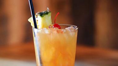 fruity specialty drink