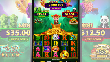 New Slot machine Tiger Reign