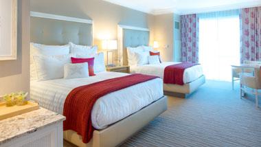 Margaritaville Resort Casino Standard Double Queen Hotel Room