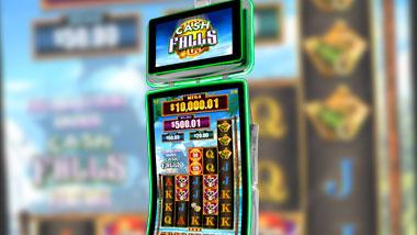 A Cash Falls Pirate Trove slot machine.