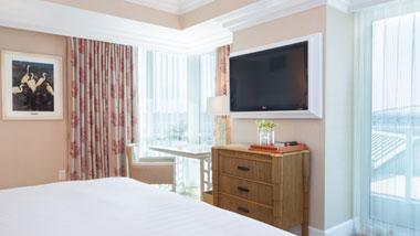 Margaritaville Resort Casino Premium Hotel room balcony view
