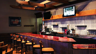 Game Room Bar at Riverview Margaritaville Bossier City