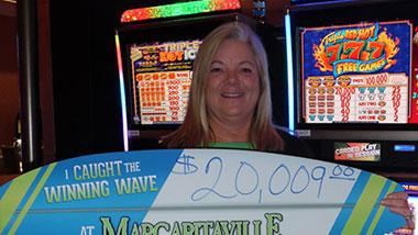 Margaritaville Casino Recent Jackpot Winner Jacquittia F