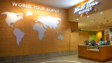entrance to World Tour Buffet
