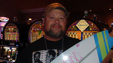 Margaritaville Casino Recent Jackpot Winner Chris B